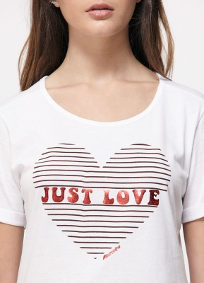 Remera Just Love